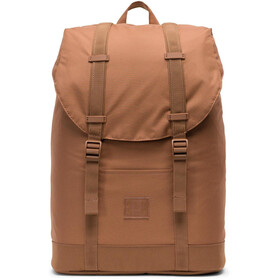 Herschel Retreat Mid-Volume Light Zaino, saddle brown